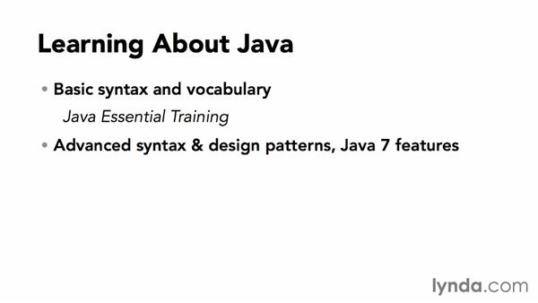 What you should know before starting this course: Java SE 8 New Features
