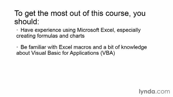 What you should know before watching this course: Up and Running with Excel Cluster Analysis