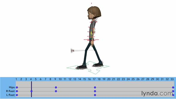 Animating lower-body poses: Character Animation: Locomotion