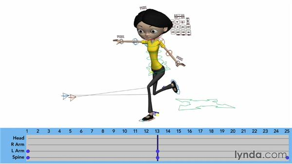 Animating the arms: Character Animation: Locomotion