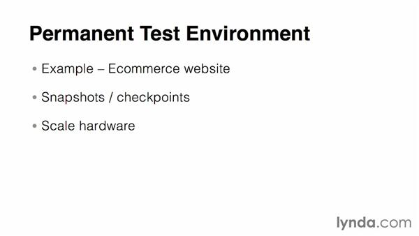 Setting up test and development environments: Virtualization Essential Training
