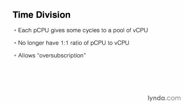 Understanding virtual CPU: Virtualization Essential Training