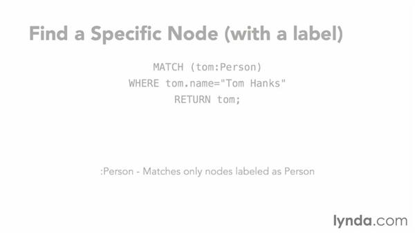 Using specific nodes for a Cypher query: Up and Running with Neo4j