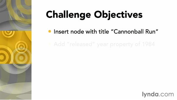 Challenge: Create a new node: Up and Running with Neo4j