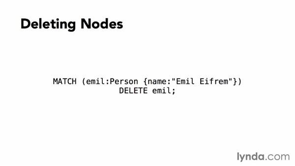 Deleting entities: Up and Running with Neo4j