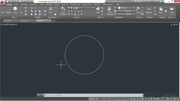 Using and creating templates: AutoCAD 2015 Essential Training