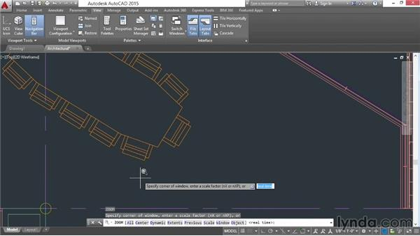 Using the Zoom command to navigate: AutoCAD 2015 Essential Training