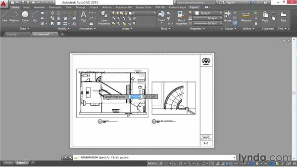 Understanding model and paper spaces: AutoCAD 2015 Essential Training