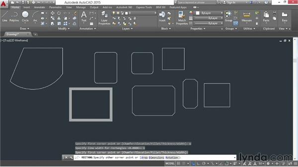 Rectangles and polygons