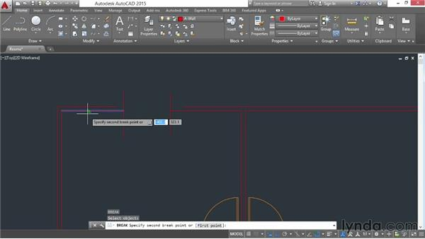 Breaking and joining: AutoCAD 2015 Essential Training