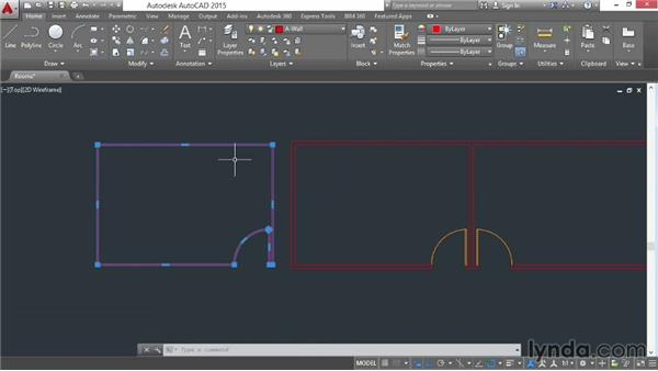 Creating boundaries and cleaning up: AutoCAD 2015 Essential Training