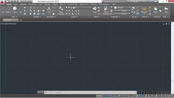 Using Grid and Snap: AutoCAD 2015 Essential Training