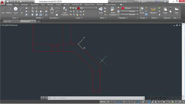 Creating coordinate systems of your own: AutoCAD 2015 Essential Training