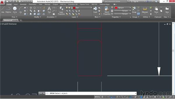 Creating hatch patterns by selecting objects: AutoCAD 2015 Essential Training