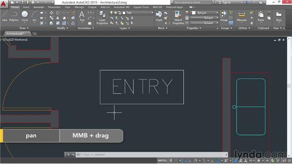 Writing single-line text: AutoCAD 2015 Essential Training