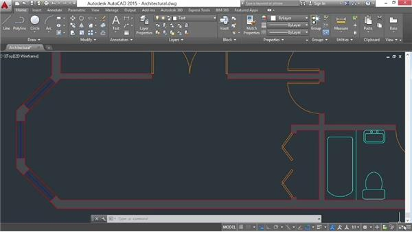 Measuring distances and areas: AutoCAD 2015 Essential Training