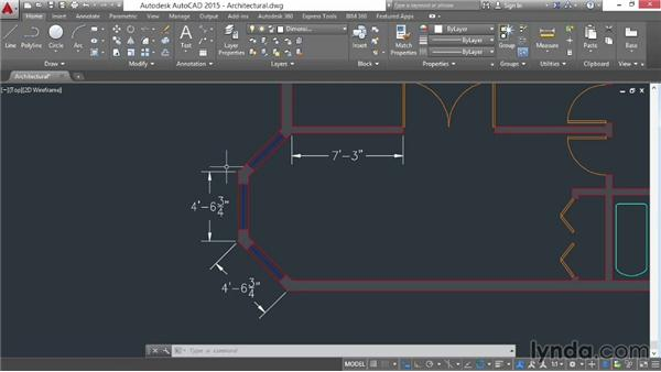 Making dimension objects: AutoCAD 2015 Essential Training