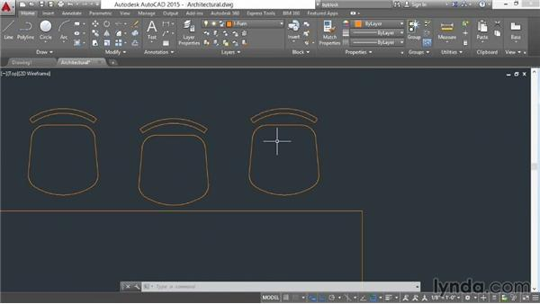 Working with groups: AutoCAD 2015 Essential Training