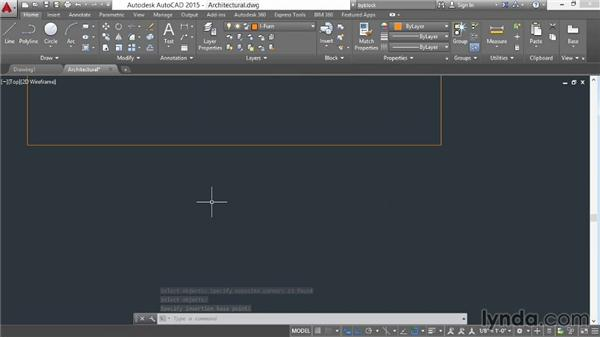 Creating and inserting blocks: AutoCAD 2015 Essential Training