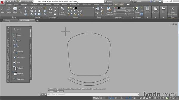 Using ByLayer and ByBlock object properties: AutoCAD 2015 Essential Training