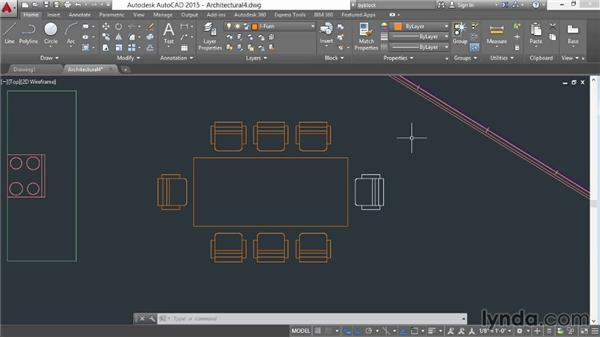 Exploding objects with Explode and Xplode: AutoCAD 2015 Essential Training
