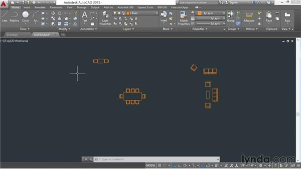 Exporting objects to a file: AutoCAD 2015 Essential Training