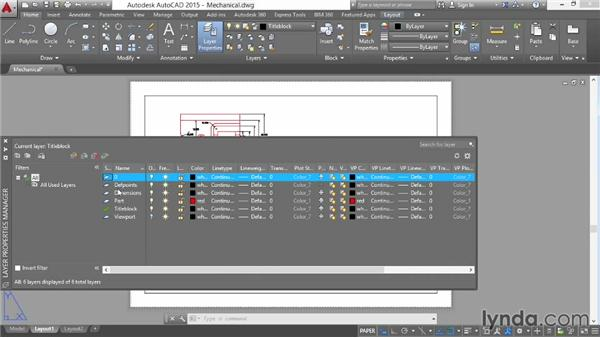 Plotting from a layout and from model space: AutoCAD 2015 Essential Training