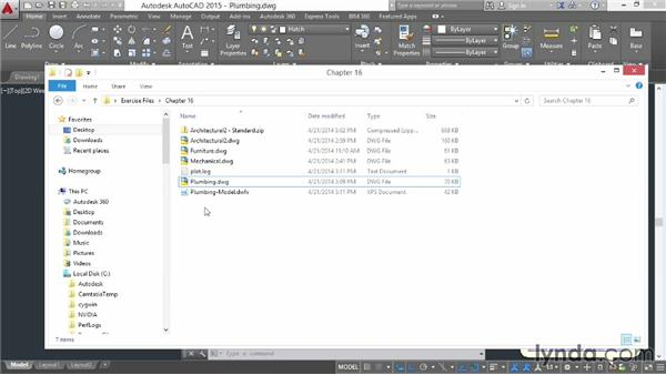 Outputting DWFx files for sharing online: AutoCAD 2015 Essential Training