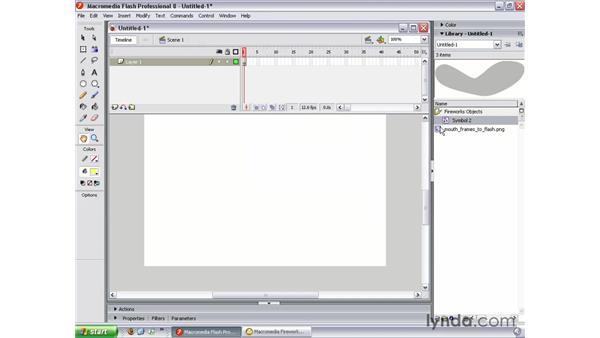 Editing Fireworks vectors in Flash: Studio 8 Web Workflow