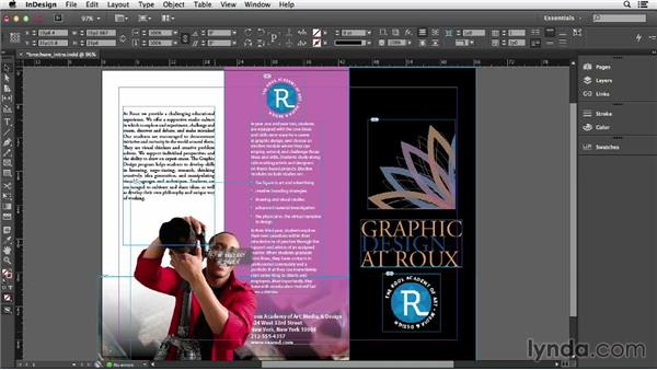 Moving objects: Getting Started with InDesign (2014)