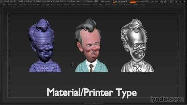 Deciding on hollow or solid 3D prints: 3D Printing with ZBrush