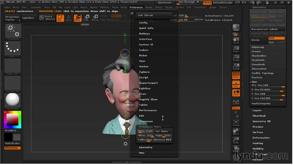 Sizing an object: 3D Printing with ZBrush