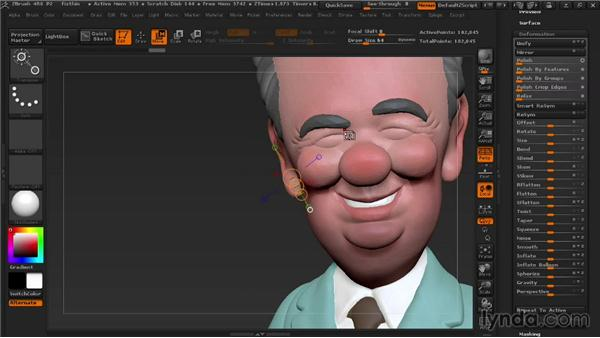 Fixing parts that are too thin: 3D Printing with ZBrush