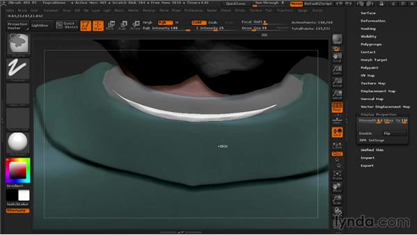 Fixing problems with Panel Loops: 3D Printing with ZBrush
