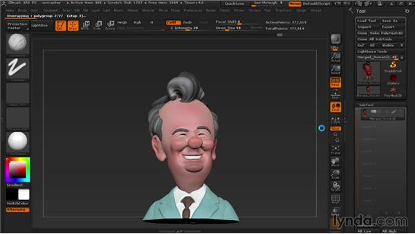 Laying out UVs with UVmaster: 3D Printing with ZBrush