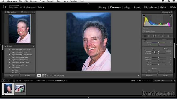 Understanding the interaction of Lightroom's histogram and tone panels: Color Correction in Lightroom