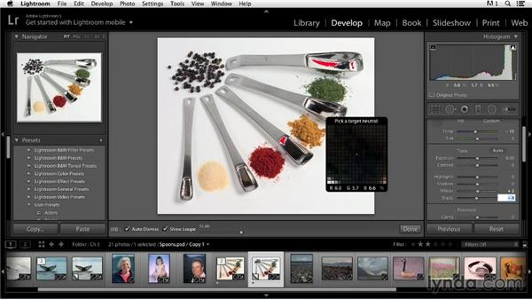 Adding pop to product images: Color Correction in Lightroom