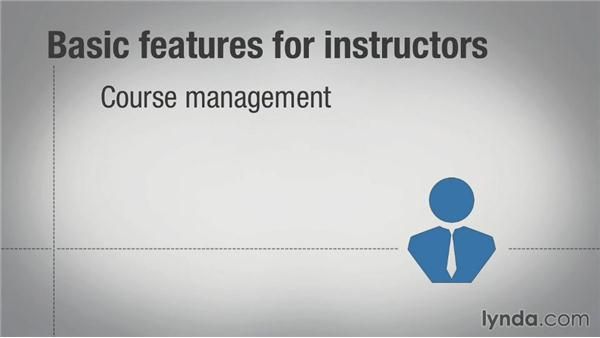 Standard LMS features: Learning Management System (LMS) Fundamentals