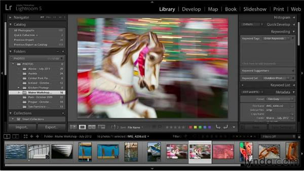 The Quick Collection: Lightroom 5: 01 Organizing Your Photos