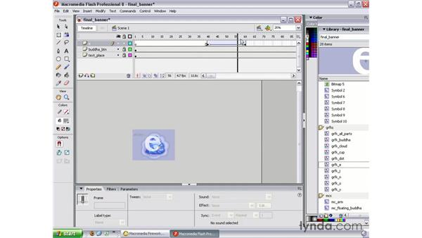Fly-in text animation pt. 1: Studio 8 Web Workflow
