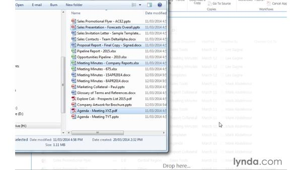 Welcome: Managing Documents with SharePoint 2013