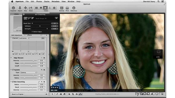 Touching up and post work on the client favorites: Photographing High School Senior Portraits