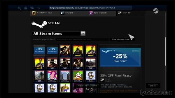 Managing items with the Inventory: SteamOS for Developers First Look