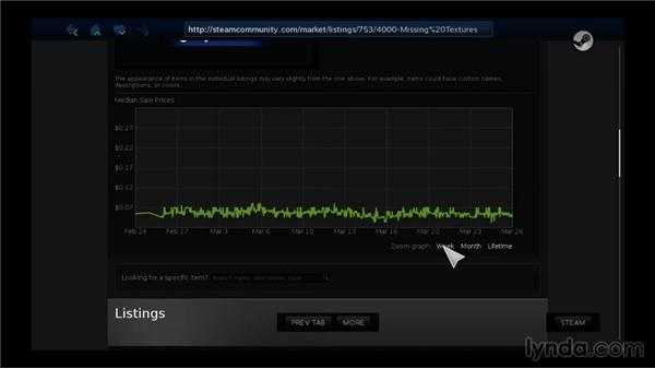 Selling content using the Steam Community Market: SteamOS for Developers First Look
