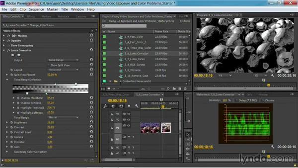 The Luma Corrector effect: Fixing Video Exposure Problems in Premiere Pro CC