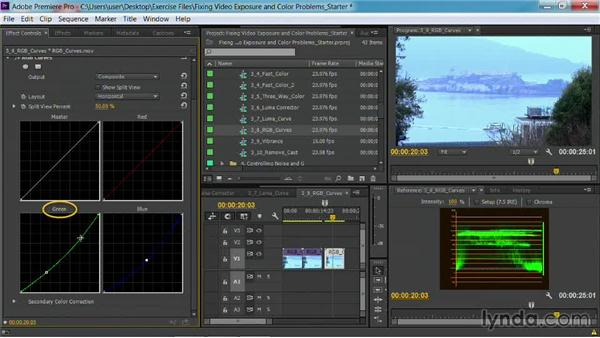 The RGB Curves effect: Fixing Video Exposure Problems in Premiere Pro CC