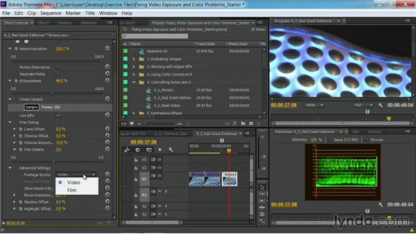 Using Red Giant Denoiser: Fixing Video Exposure Problems in Premiere Pro CC