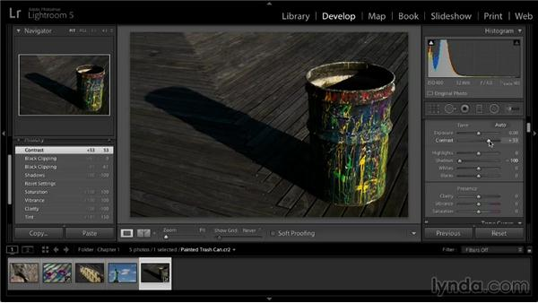 Reset, History, and Snapshots: Lightroom 5: 02 Optimizing Your Photos