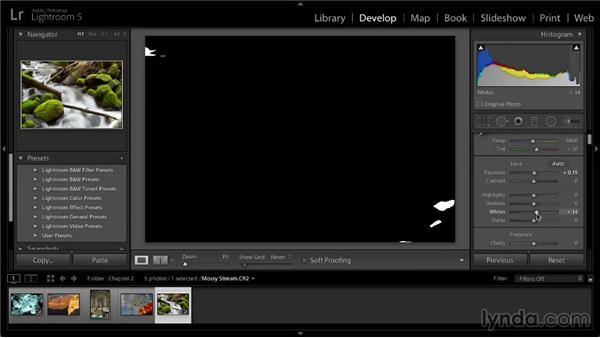 Overall tonal adjustment: Lightroom 5: 02 Optimizing Your Photos