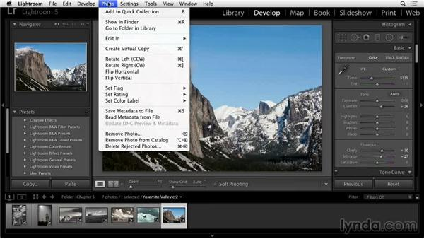 Working with virtual copies: Lightroom 5: 02 Optimizing Your Photos